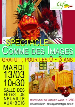 affiche spectacle finale 13.03